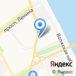 Городское на карте Ярославля