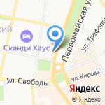 Шалаев и Спивак на карте Ярославля