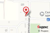 Схема проезда до компании Детский сад №25 в Дорожном