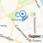 Управление Федеральной почтовой связи Ярославской области на карте Ярославля