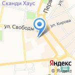 Премьер-Тур на карте Ярославля