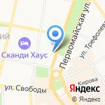 Регион на карте Ярославля