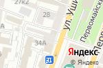 Схема проезда до компании Грудничок в Нагорном