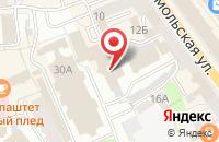 Схема проезда до компании Rebus studio в Ярославле