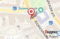 Схема проезда до компании Meat Me в Ярославле