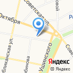 Ника на карте Ярославля