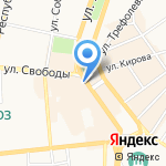 Магнат-Ярославль на карте Ярославля