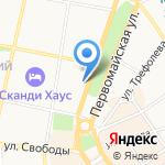 Славянский базар на карте Ярославля