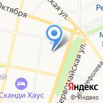 ЯрСБ на карте Ярославля