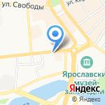 Pony Express на карте Ярославля