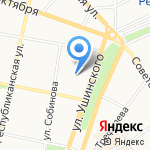 Детский сад №21 на карте Ярославля