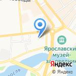 ГазСтройПроект на карте Ярославля