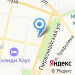 Отдел военного комиссариата Ярославской области по Кировскому на карте Ярославля