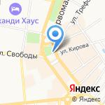 Знаменская церковь на карте Ярославля