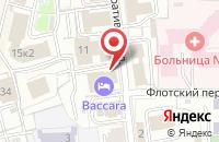 Схема проезда до компании БАККАРА в Ярославле