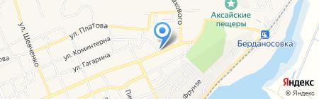 МОЛОТ на карте Аксая