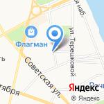 Локотранс на карте Ярославля