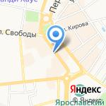 Магазин видеоигр на карте Ярославля