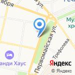 Цветочный рай на карте Ярославля