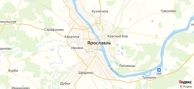 46 маршрутка в Ярославле