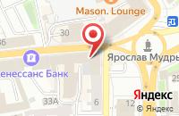 Схема проезда до компании Bingo Boom в Ярославле