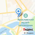 НИКАС на карте Ярославля