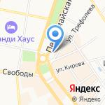 Vpn-transfer на карте Ярославля