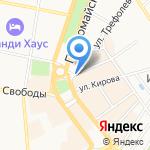 Северный край Ярославский регион на карте Ярославля
