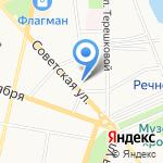 Уникум на карте Ярославля