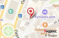 Схема проезда до компании 1Xставка в Ярославле