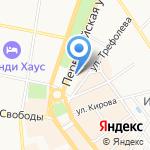 Профинвест на карте Ярославля