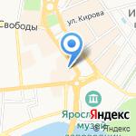 Четыре сезона на карте Ярославля