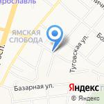 Гусарское здоровье на карте Ярославля