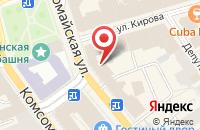 Схема проезда до компании Organic coffee в Ярославле