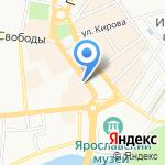 Воск & Шугаринг на карте Ярославля