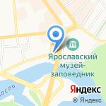 Ярославская Епархия Русской Православной церкви на карте Ярославля