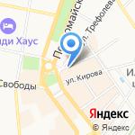 Союз художников России на карте Ярославля