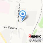 Нинэль на карте Ярославля