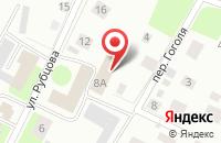 Схема проезда до компании Технология позитива в Вологде