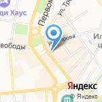 Мегатоп на карте Ярославля