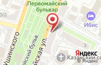 Схема проезда до компании АкадемиЯ в Ярославле