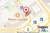 Схема проезда до компании Центральное отделение почтовой связи г. Ярославля в Ярославле