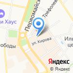 Ярославская государственная филармония на карте Ярославля