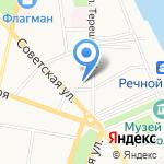 Шанти на карте Ярославля