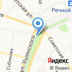 Горка-Холл на карте Ярославля