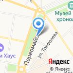 Афонсикй оазис на карте Ярославля