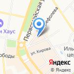 Купцовъ дом на карте Ярославля