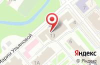 Схема проезда до компании Яроблтур-Инфо в Вологде