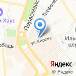 Рашель на карте Ярославля