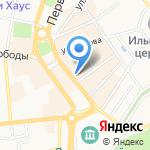 Чистый воздух на карте Ярославля